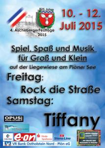 Ascheberger Festtage 2015, Plakat